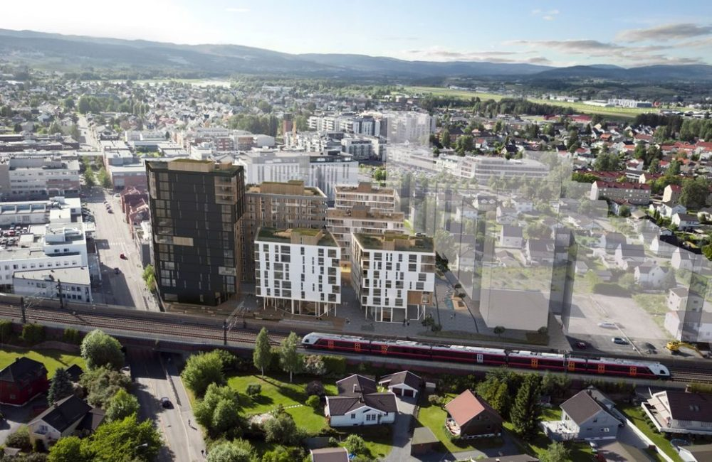 Dovrekvartalet, Lillestrøm